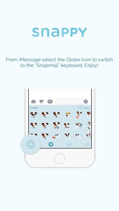 Snappy Emoji Keyboard screenshot three