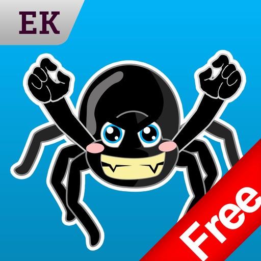 Emoji Kingdom 16 Free Spider Halloween Emoticon Animated for iOS 8
