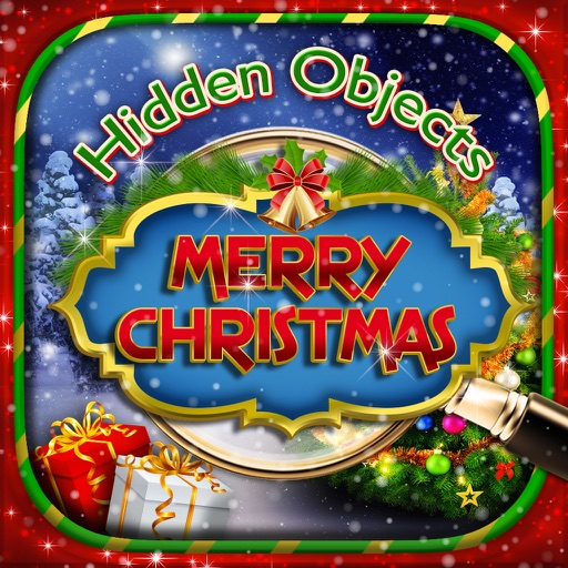 Hidden Objects Merry Christmas Winter Object Time