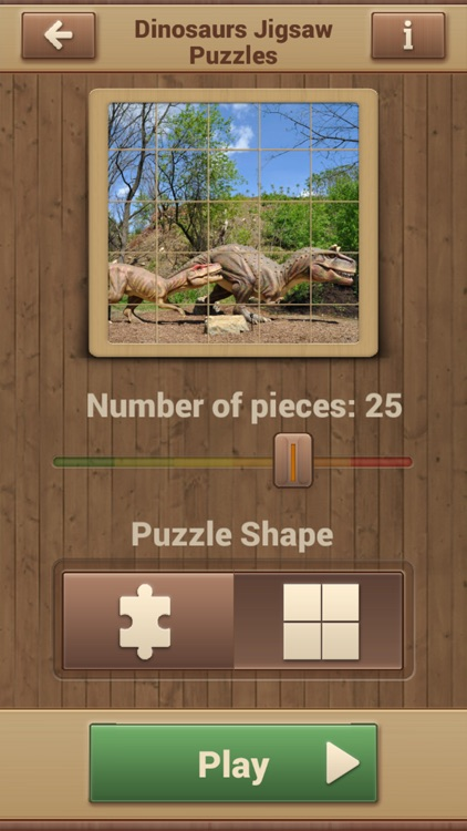 Dinosaurs Jigsaw Puzzles - Fun Games screenshot-2