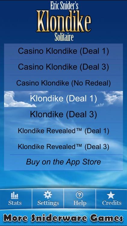 Eric's Klondike Solitaire Lite screenshot-4
