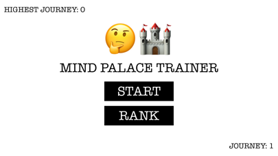 Mind Palace Trainer - Method of Loci