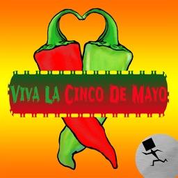 Southwestern Cinco De Mayo Stickers