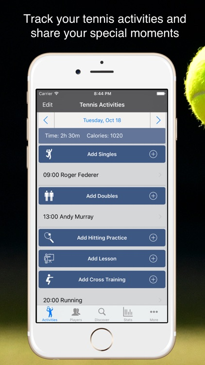 TennisKeeper - Tennis Activity & Scores Tracker
