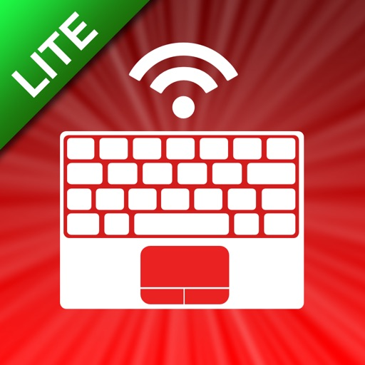 Air Keyboard Lite: remote touch pad and keyboard