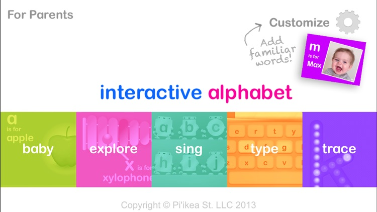 Interactive Alphabet ABC's screenshot-0