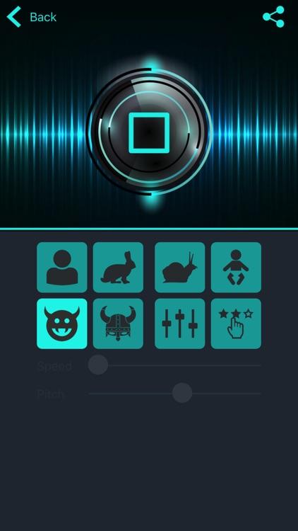 Magic Voice - voice changer screenshot-3