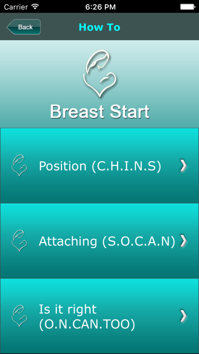 Breast Start screenshot two