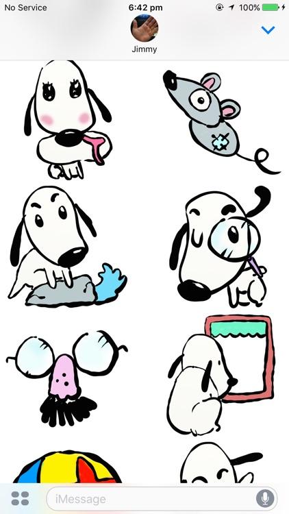 Woofy Stickers
