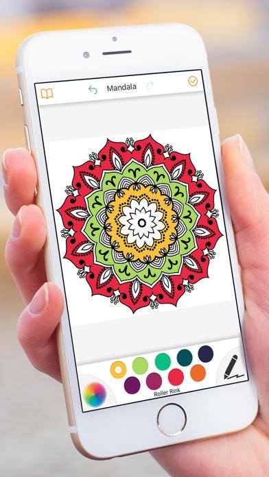 Mandala Coloring Pages 2017 screenshot one