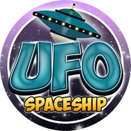 UFO Spaceship - Fly Zig Zag in Space
