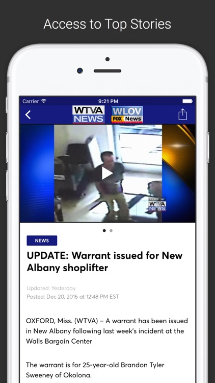 WTVA/WLOV - Breaking News in Northeast Mississippi