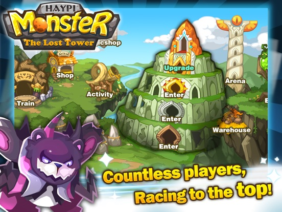 Haypi Monster:The Lost Tower для iPad