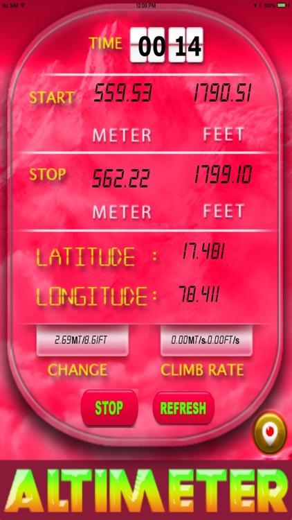 Elevation: Altimeter HD screenshot-3