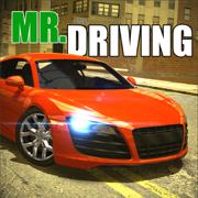 Mr Driving - 体育汽车模拟器城市交通停车漂移和生涯模式