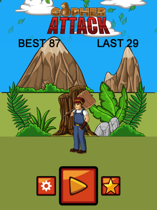 Best Gopher Attack, game for IOS