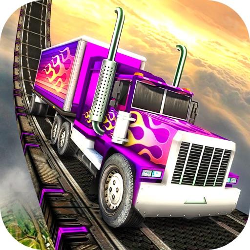 Экстремальное вождение тяжелых грузовиков