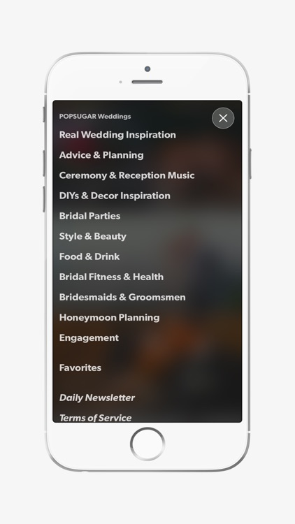 POPSUGAR Weddings screenshot-3