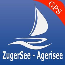 Zug - Aegeri lakes GPS nautical charts