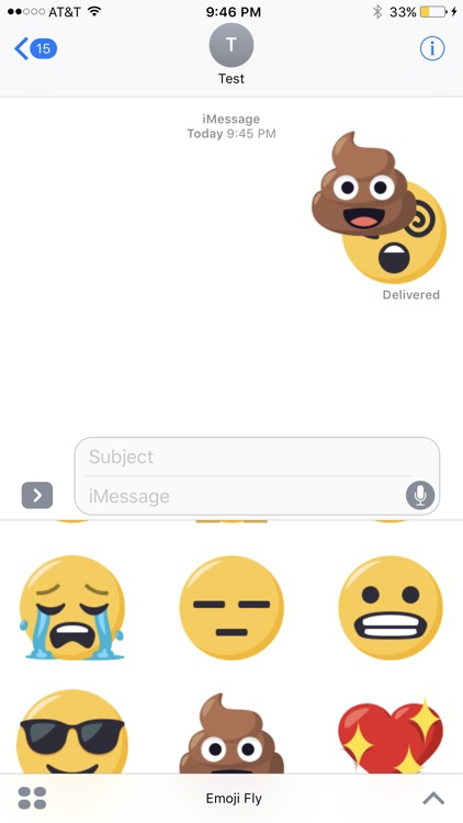 EmojiFly Stickers screenshot-3