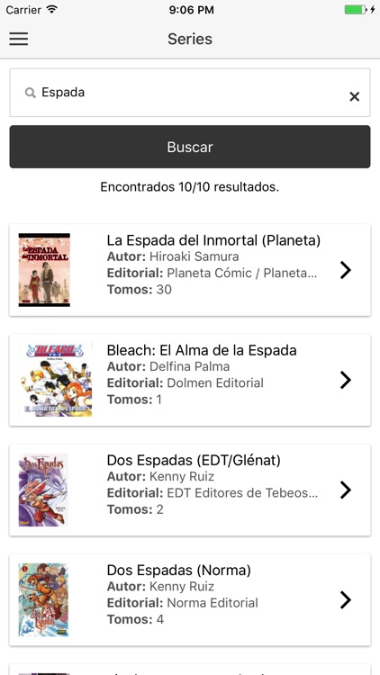 Mis Mangas screenshot-2