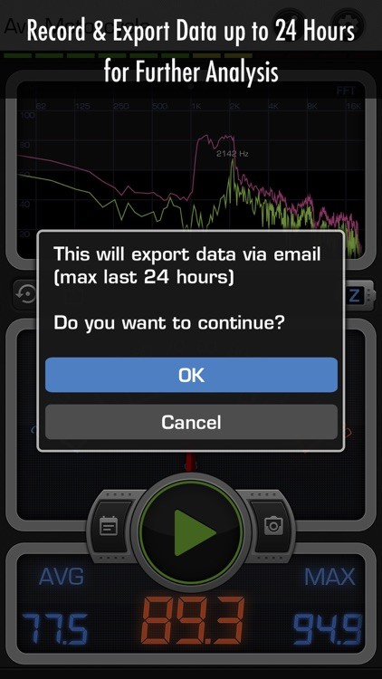 Decibel 10: Noise dBA Meter, FFT Spectrum Analyzer screenshot-4