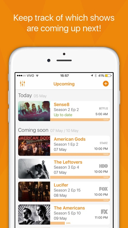 Showrunner - The smart way to track TV Shows screenshot-0
