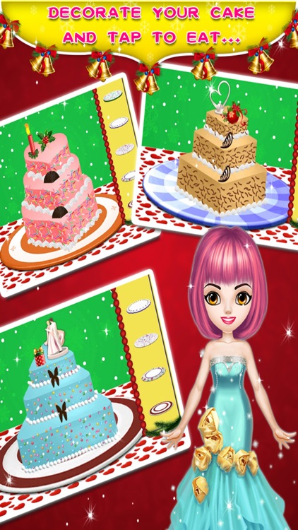 Christmas Cake Maker - Cooking game