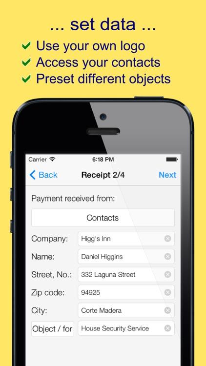 mReceipt PLUS - The Receipt App