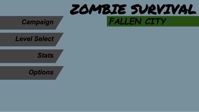 Zombie Survival Fallen City Pro Screenshot 1