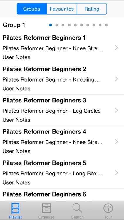 Pilates Reformer Beginners screenshot-1