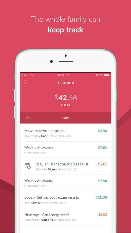 RoosterMoney Allowance Tracker screenshot-3