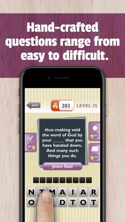 Free Bible Trivia App Game screenshot-3