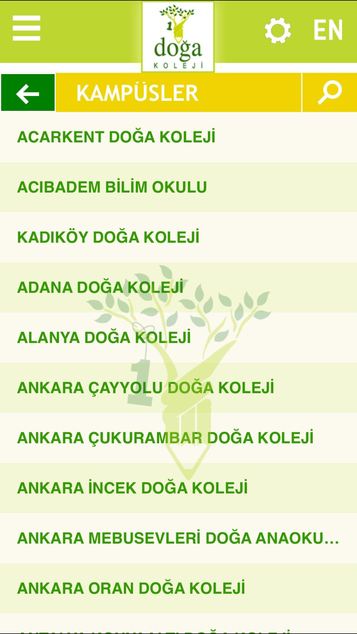 Doğa Okulları Screenshot