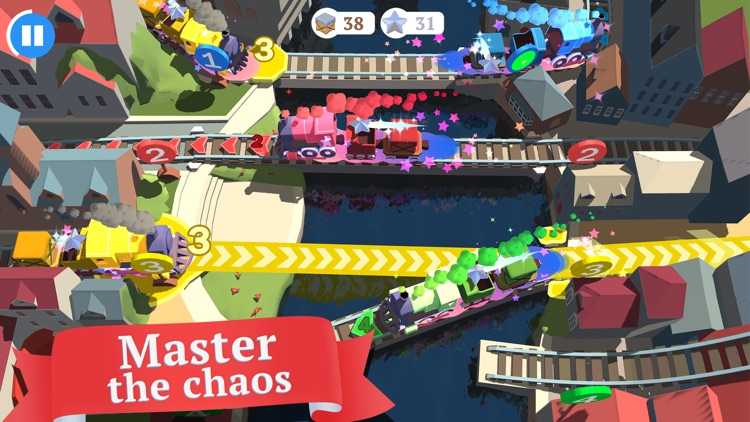 Train Conductor World - Rail Tycoon Game screenshot-1