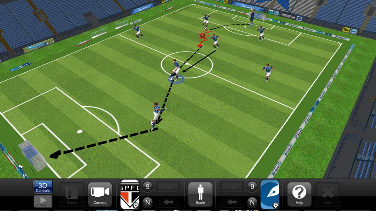 TacticalPad: Coach's Whiteboard, Sessions & Drills screenshot-4