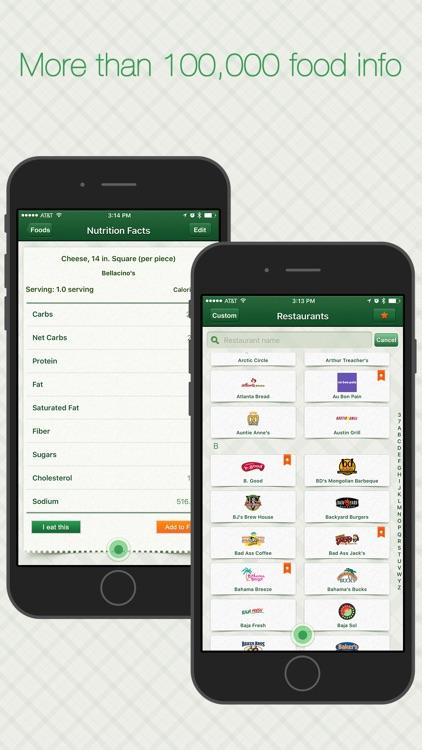 Restaurant Calorie Tracker - Diet & Weight Control
