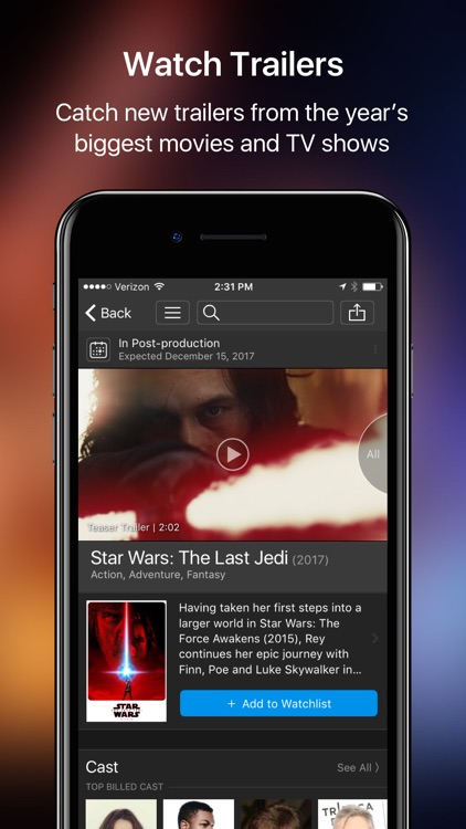 IMDb Movies & TV - Trailers and Showtimes screenshot-3