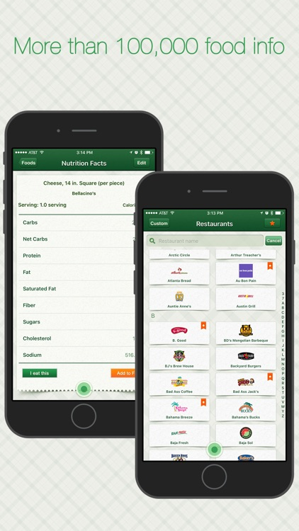 Restaurant Calorie Tracker Pro - Diet & Weight Log