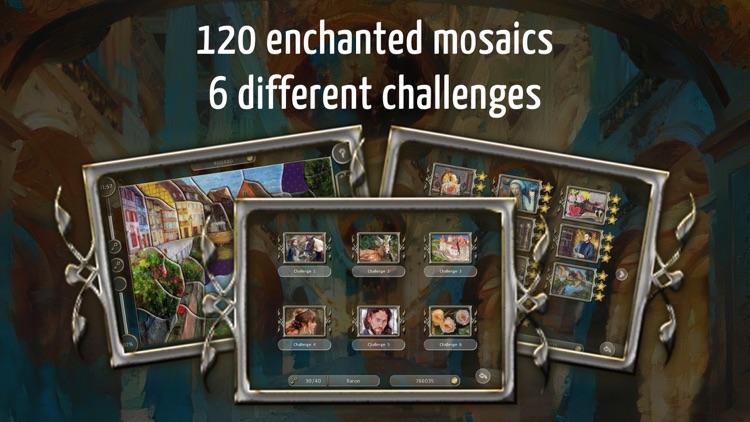 Fairytale Mosaics. Beauty and the Beast