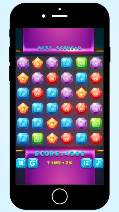 Magic Crystals match 3 screenshot two