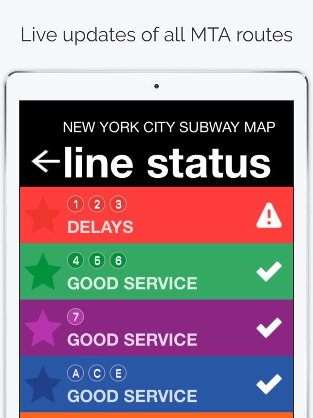 Bdfm Subway Map.New York City Subway Map On The App Store