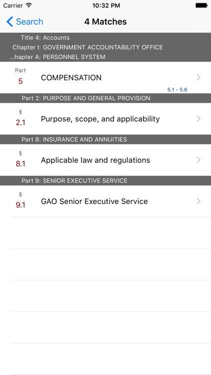 4 CFR - Accounts (LawStack Series) screenshot-4