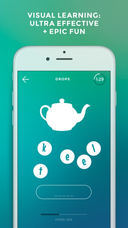 Drops: Learn Japanese, Chinese, Korean, Hebrew etc app image