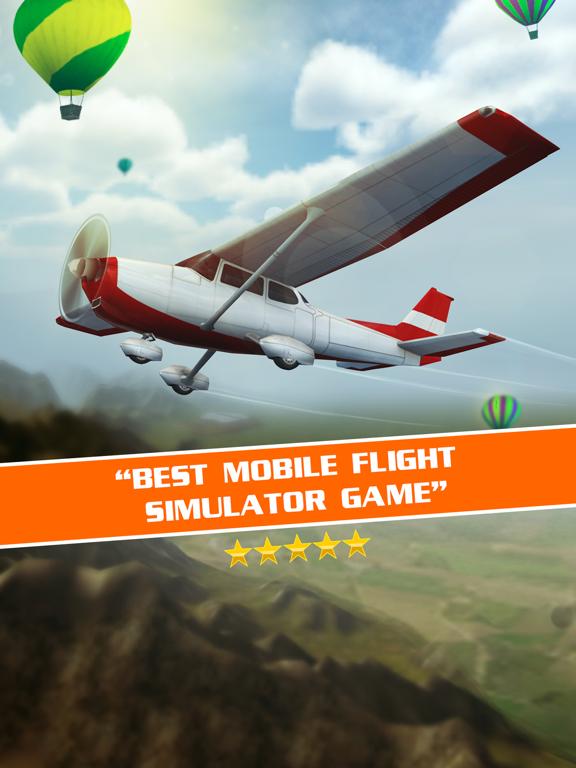 Полет Пилот - симулятор самолета игры 3D для iPad