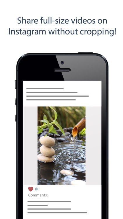 Square Video + Crop Resize Fit Zoom & Rotate Vids screenshot-3