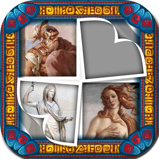 Picture Sliding Quiz Pro for Greek Gods Mythology iOS App
