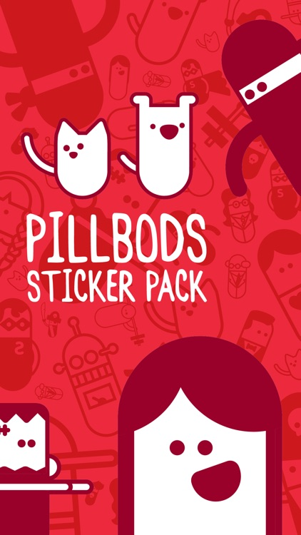 PillBods Sticker Pack