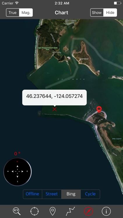 Oregon – Raster Nautical Charts screenshot-3