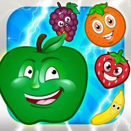 Fruit Flash Frenzy - Match 4 Puzzle Game